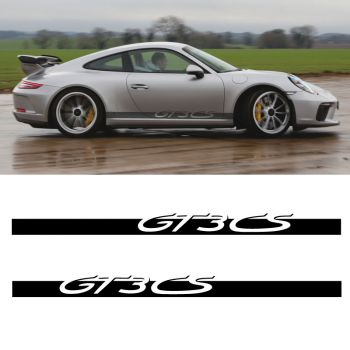 Car Side Stripes Decals Set Porsche 911 GT3 CS