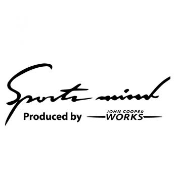 Aufkleber Mini John Cooper Works - Sports Mind