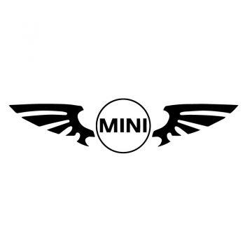 Aufkleber Mini Wings Logo