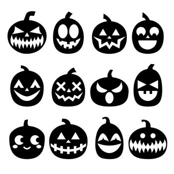 Halloween Pumpkin Decal