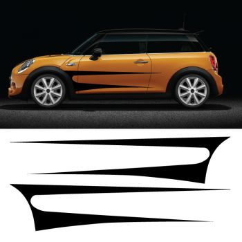 Kit Stickers Bandes Mini Cooper Speed