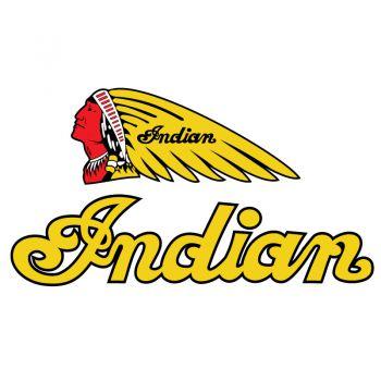 Sticker Indian Logo Chief