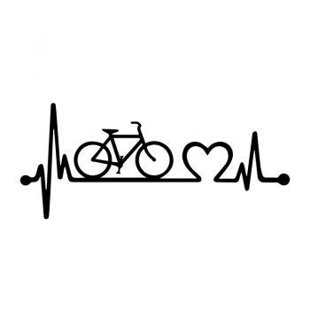 Sticker JDM J'aime le vélo