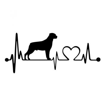 JDM I Love Dogs Decal