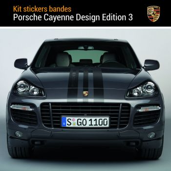 Porsche Cayenne GTS Design Edition 3 Decals Set