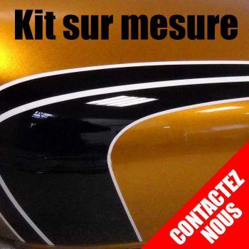 Kit stickers Kawasaki Z750 N et Z750 S