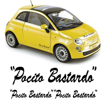 Fiat Abarth Pocito Bastardo Decals Set
