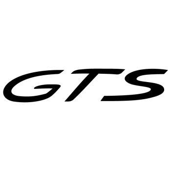 Porsche GTS Decal