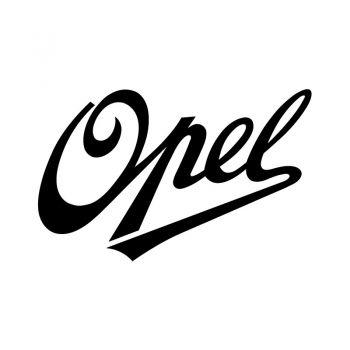 Opel Logo 1990 Decal