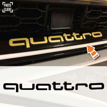Audi Quattro RS3 2017 Decal