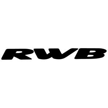 Porsche RAUH-Welt RWB Decal