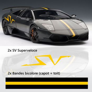 Lamborghini Murcielago LP670 Decals Set