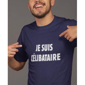 "Hemd ""Je Suis Célibataire"""