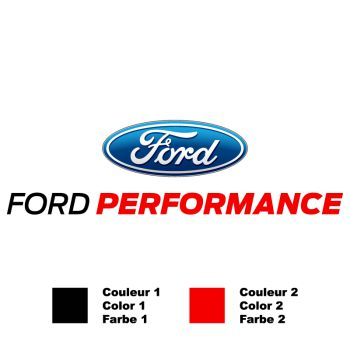Ford Performance Bicolor Decal