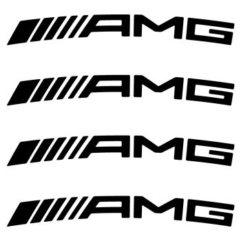 Kit Stickers Jantes Mercedes AMG 2012