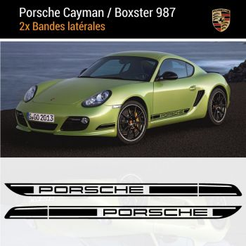 Porsche Cayman / Boxster 987 Stripes Decals Set