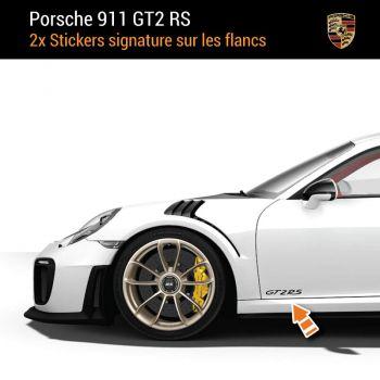 Porsche 911 GT2 RS Aufkleber (2x)