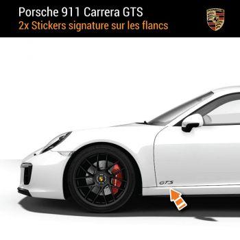 Porsche 911 Carrera GTS Aufkleber (2x)