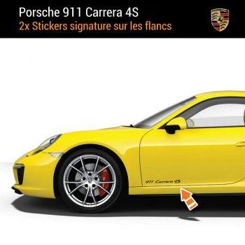 Porsche 911 Carrera 4S Aufkleber (2x)