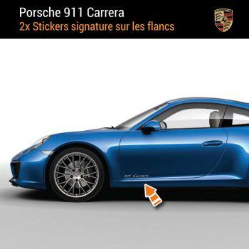 Porsche 911 Carrera Decals (2x)