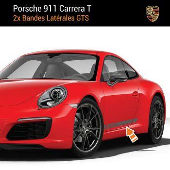 Porsche 911 Carrera T Stripes Decals Set