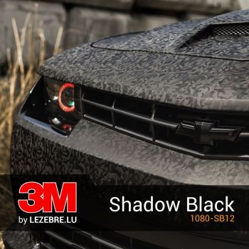 3M Shadow Black Wrap Film