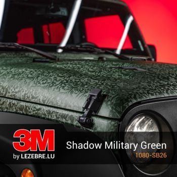 3M Shadow Military Green Wrap Film