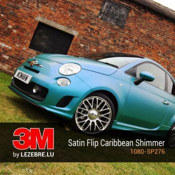 Satin Flip Caribbean Shimmer Wrap Autofolie