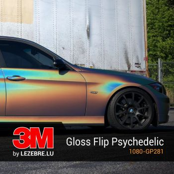 Gloss Flip Psychedelic - 3M™ Wrap Film