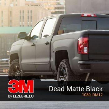 Dead Matte Black - 3M™ Wrap Film