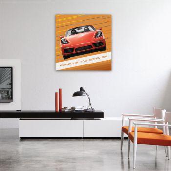 Canvas Porsche 718 Boxster