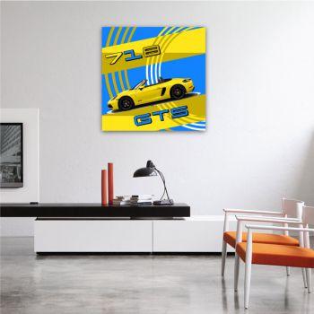 Canvas Porsche 718 Boxster GTS