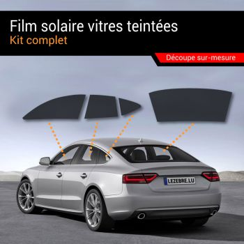Solar Film Tinted Windows Car - Complete Kit