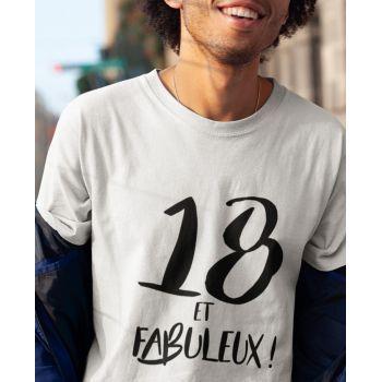 Tee-shirt 18 Ans et Fabuleux