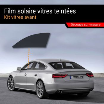 Solar Film Tinted Windows Car - Front Windows Only