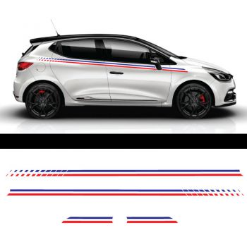 Renault Clio France Side Stripes Decal Set