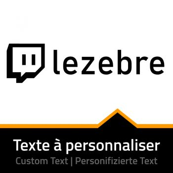 Twitch Name Custom Decal
