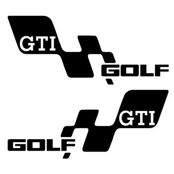Volkswagen Golf GTI Sport Decals Set