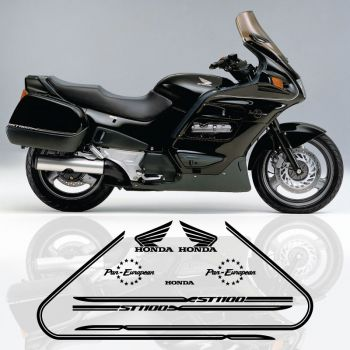 Honda ST 1100 Pan-European Decals Kit