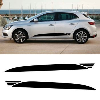Renault Megane Elia Style Stripe Set Decals