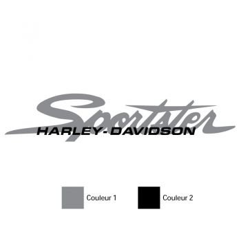 Set of 2 Harley Davidson Sportster tank decals