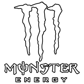 Monster Energy Outline Decal