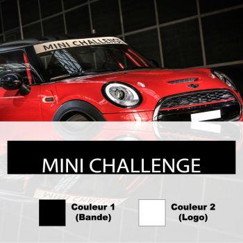 Mini Challenge Sunstrip Car Decal