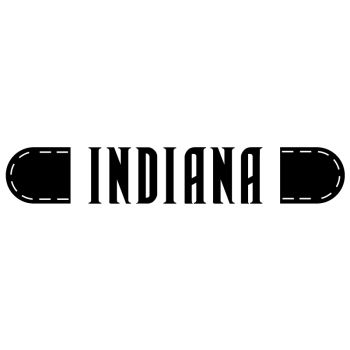 Peugeot 205 Indiana logo Decal
