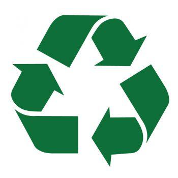 Sticker Recyclage Symbole