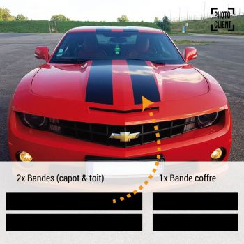 Chevrolet Camaro SS 2013 Decals Set