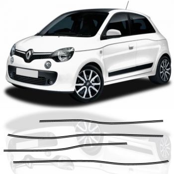 Renault Twingo III 2 Stripes Decals Set