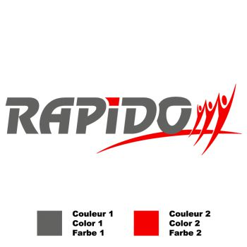 Rapido Logo Decal