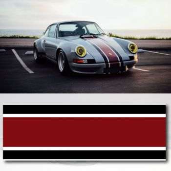 Porsche 911 Carrera RSR Backdate Car Strip Sticker