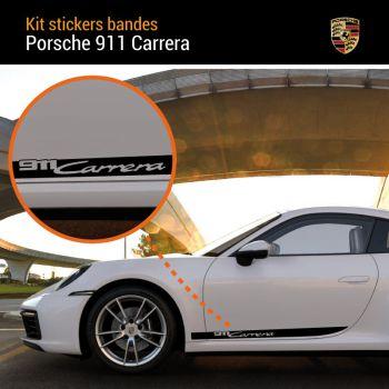Porsche 911 Carrera Stripes Decals Set
